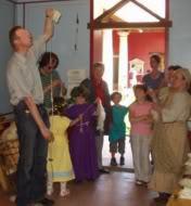 Handspinn-Workshops quer durch die Geschichte